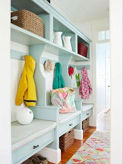 4 tips para organizar tu casa para la vuelta al cole y for Mudroom a forma di l