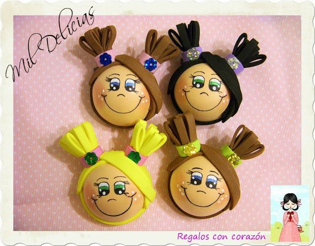 ♥ Broches Mini Delifús