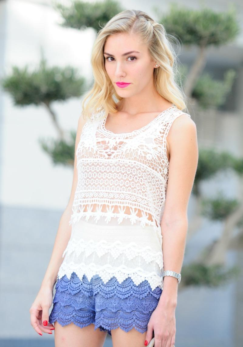 Total look crochet
