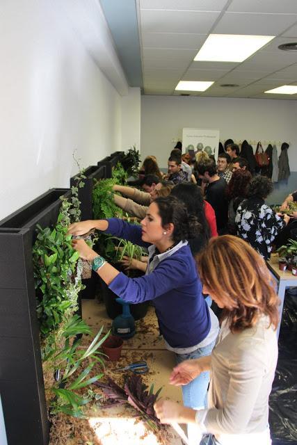 Pr ximo curso de jardines verticales en m xico diciembre for Jardines verticales quito ecuador