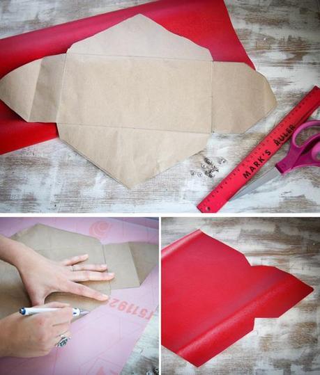 DIY tutorial bolso sobre sin coser