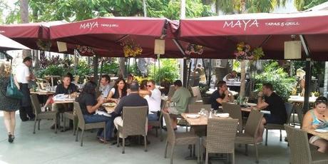 COMER EN MIAMI, PAGAR EN PESOS  RestauranteMaya Tapas & Grill --Se aceptan pesos al cambio oficial