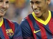 Messi sirvió para tranquilizar Neymar antes llegada