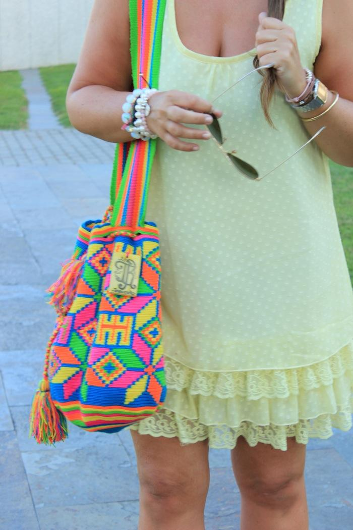 Yellow dress & Wayuu