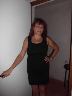 Mi vestido negro.