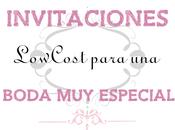 Imprimibles Invitaciones Boda Lowcost