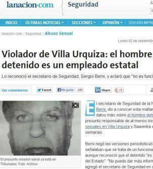 Las violaciones seriales en Villa Urquiza, otra buena excusa para difamar