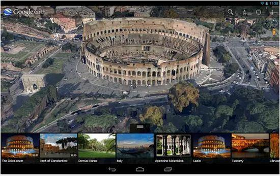 google-earth-android-pictures