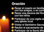 Ideas para vivir Jornada Ayuno Oración septiembre