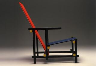 Red & Blue Chair, Rietveld, 1917
