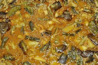 Pastel de verduras con cúrcuma