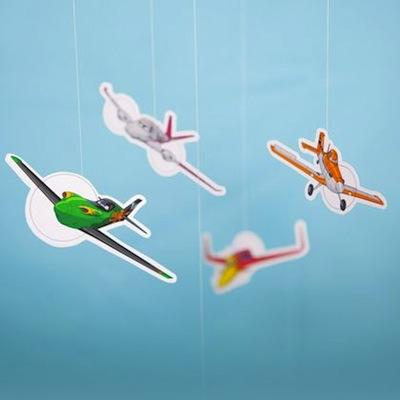 fiesta de cumple de aviones disney imprimibles gratis