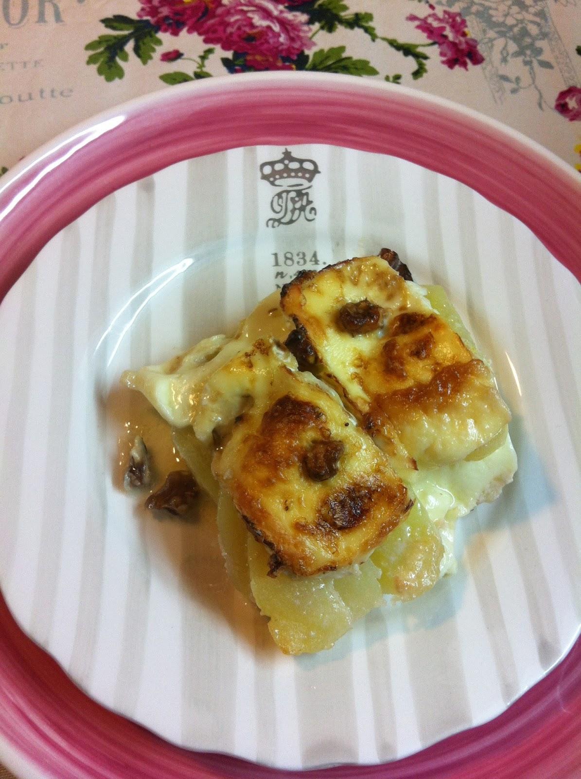 Gratinado de patatas manzana y brie paperblog - Gratinado de patata ...
