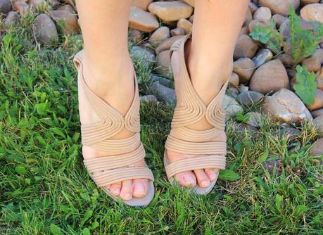 max azria sandals