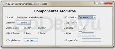 Componentes Atomicos Java Swing