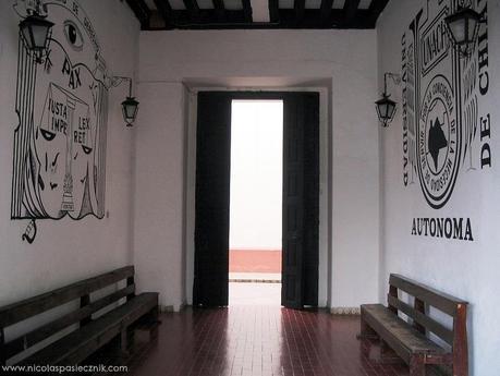 Murales de la Facultad de Derecho de San Cristóbal de las Casas