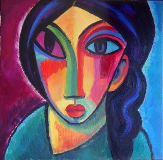 Dibujos abstractos para pintar cuadros lindo conejo for Como pintar un cuadro abstracto