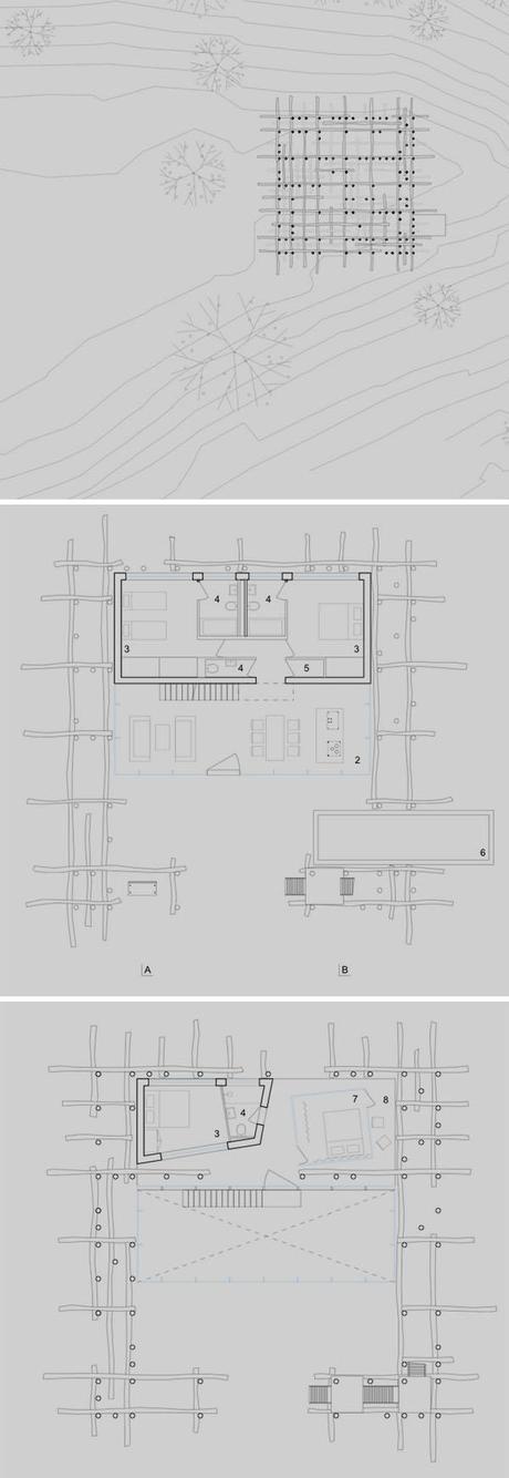 solo-houses-fujimoto-plans