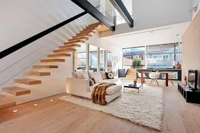 Escaleras modernas paperblog for Decoracion escaleras duplex