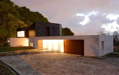 Accesos de casas minimalistas paperblog for Accesos arquitectura