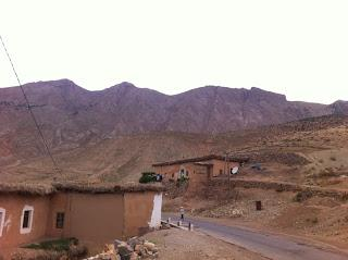 Aldea de Timit. Valle Aït Bougmez. Marruecos