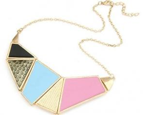 Estilo Euro Coloful Collar irregular @ SP47536
