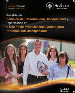 Maestría en Inclusión de Personas con Discapacidad