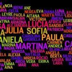 Los 100 nombres de niña más comunes en 2012