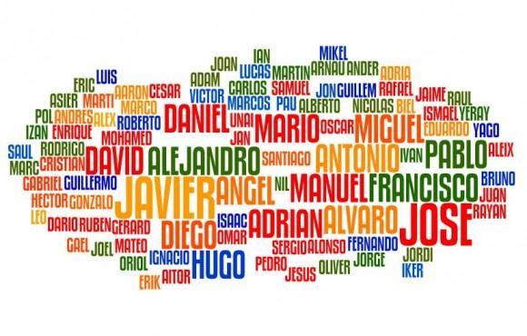 Los 100 nombres de niño más comunes en 2012