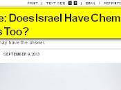 Israel desarrolló armas químicas, revela informe secreto