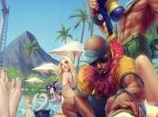 League Legends: nuevos skins Fiesta Piscina, disponibles