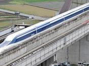 Japón prueba tren 'flotante' veloz mundo