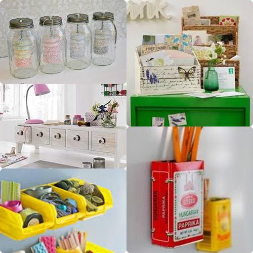 Ideas para ordenar el escritorio paperblog for Ideas para decorar escritorio