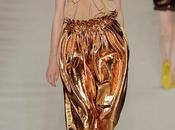 Chloé golden lamé pants from Spring/Summer 2009 renewed NYFW 2014