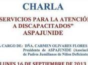 """Charla-coloquio """"Servicio para atención personas discapacitadas"""" Jumilla"""