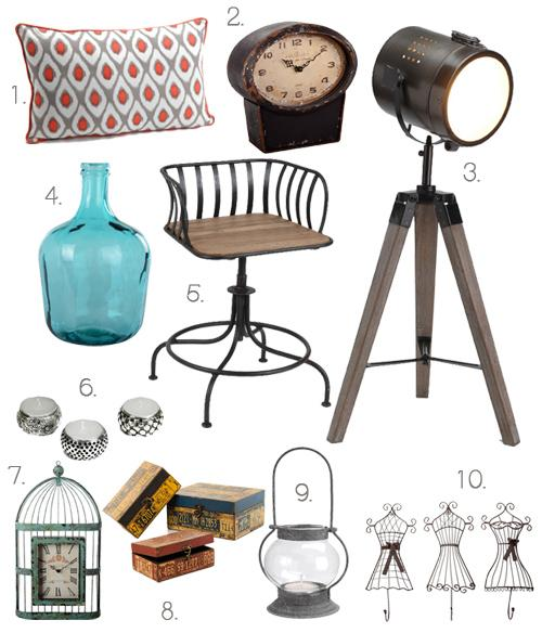 El estilo n rdico industrial de banak importa paperblog for Objetos decorativos minimalistas
