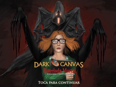 Pincelada Mortal. Dark Canvas