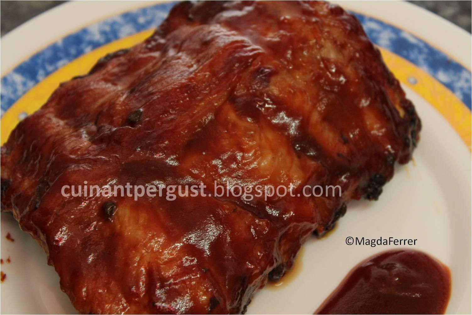 Costillar de cerdo con salsa barbacoa paperblog for Salsa barbacoa ingredientes