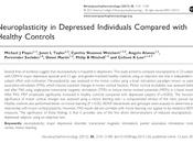 Neuroplasticidad personas deprimidas comparadas controles sanos Player col.