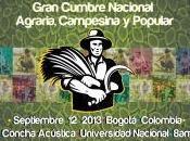 Gran Cumbre Nacional Agraria Campesina Popular Colombia