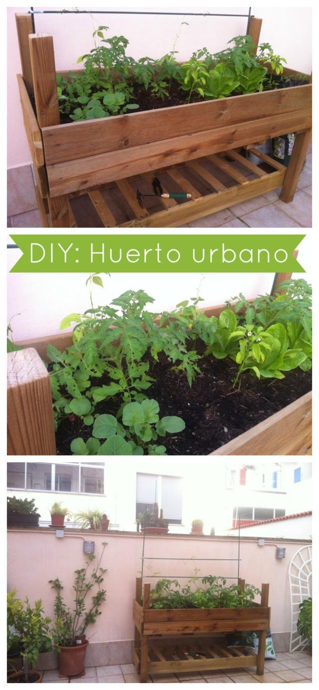 Diy c mo hacer un huerto urbano f cil y barato paperblog - Como hacer un huerto urbano ...