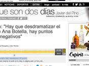 Ecos entrevista Cadena acerca relaxing Botella. Podcast
