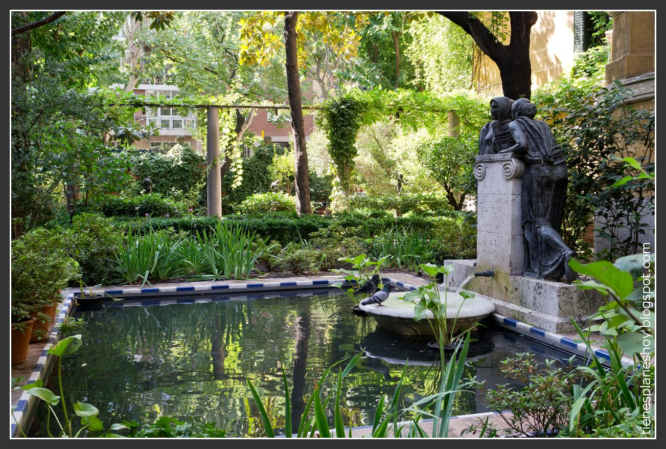 Museo sorolla uno de esos rincones con encanto en madrid - Pequenos jardines con encanto ...