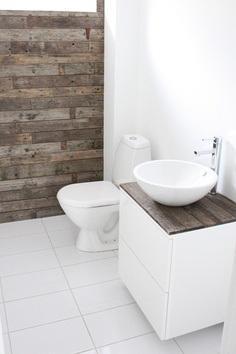 Ba os en blanco y madera paperblog for Bano blanco y madera