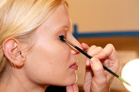 The new eyeliner seen in Derek Lam Spring/Summer 2014