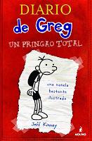 Diario de Greg #1. Un pringao total, de Jeff Kinney.