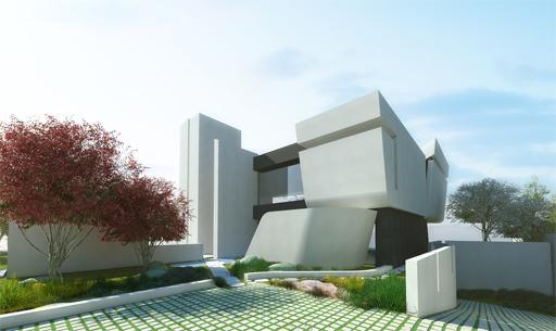 A cero presenta el proyecto de paisajismo de una vivienda for Paisajismo madrid