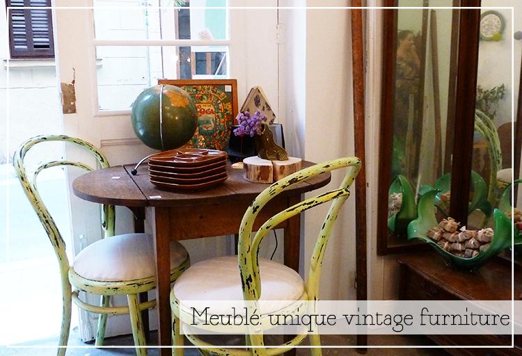 Meubl muebles vintage nicos paperblog for Muebles vintage barcelona