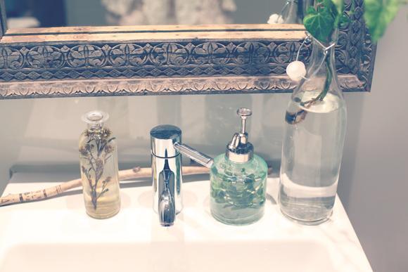 Botes de cristal en el cuarto de baño - Paperblog