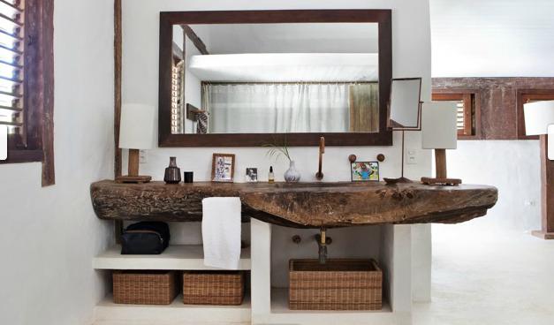 tendencia decorar con madera natural paperblog On decoracion madera natural